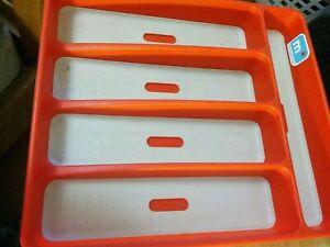 MADESMART RED Silverware Utensil Storage Flatware Kitchen Cutlery Organize