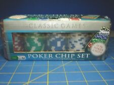NEW CARDINAL LAS VEGAS STYLE STACKABLE TRAY 100 COUNT 11.5G HEAVY  POKER CHIPS