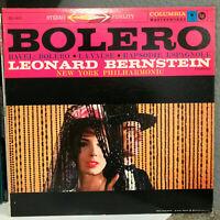 "Ravel Bolero Bernstein & NY Philharmonic (MS 6011) - 12"" Vinyl Record LP - Ex"