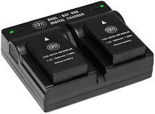 BM 2 EN-EL20 Batteries & Dual Charger for Nikon Coolpix P1000, Coolpix A Cameras
