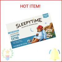 (Pack of 3) Celestial Seasonings Herbal Tea, Sleepytime Extra, Tea Bags, 20 Ct