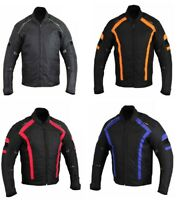 Biker Jacket CE Approved Armour Abrasion Resistant Summer Motorbike Jackets