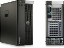 Dell T3610 Workstation Computer Tower PC Xeon E5-2609 V2 2.5GHz 32GB 1TB Win10