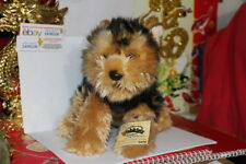 WEBKINZ SIGNATURE SHORT HAIRED YORKIE.COMES WITH SEALED/UNUSED CODE.NICE GIFT