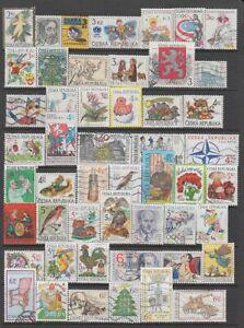 Czech Republic - 130no. different stamps 1993-2020 (CV $202)