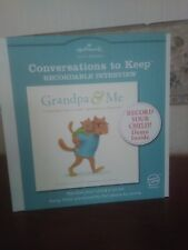 "Hallmark Grandpa & Me ""A Conversations to Keep"" Recordable Interview"