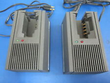 Lot of 2 Motorola Single Charging Stations Model NLN8858 MX/STX Battery