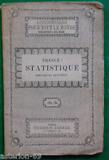 FRANCE STATISTIQUES  L.GIRAULT CA 1850 BIBLIOTHEQUE PHILIPPART