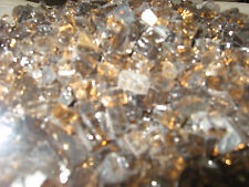 Bronze Reflective Fire glass for your gas fireplace or gas fire pit Gr-Bronze