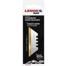 LENOX Gold® 20350GOLD5C Utility Knife Blades 5-Pack 20350