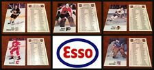 Custom Made Set of 5 1988 Esso NHL All-Star Collection Cards Needed for Set