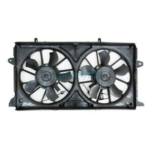 NEW RADIATOR AND CONDENSER FAN ASSEMBLY FITS 15-17 CHEVROLET SUBURBAN GM3115264