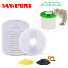 Cat Water Fountain Filters Replacement Filters for Pet Catit Flower GEX Cat V4C9