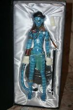 "AVATAR COLLECTION JAKE & NEYTIRI FIGURES DOLLS RESIN 22"" TALL AMAZING TONNER NEW"