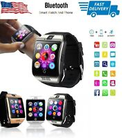 Smart Watch Phone Mate with Text Call Camera Touch Screen for iPhone Samsung LG