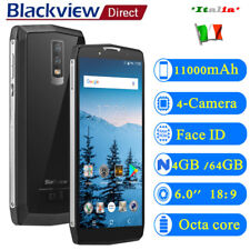 Blackview P10000 Pro 4G 6.0''HD 4GB/64GB 16MP 4-Cam Smartphone Telefono 11000mAh
