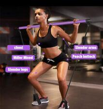 Pilates Stick Bodybuilding Crossfit yoga resistance Bands Fitness Equipment