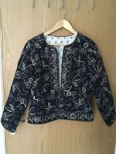 Monsoon Embroidered Jacket Size 10