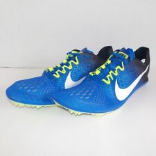 Nike VICTORY 3 Distance Running Shoes 835997 413 Men Size 10 with Spikes & SRT