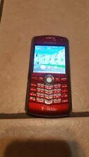 BlackBerry Pearl 8100 - Red (Unlocked) Smartphone lot #174
