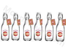 6 X Kilner Swing Top 250ml VETRO succo di frutta olio di conservazione e lo stoccaggio BOTTIGLIE Decalcomania