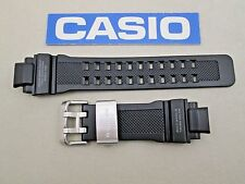 Genuine Casio G-Shock Gravity Defier GW-A1100 black rubber resin watch band