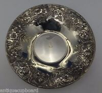 """Repousse by Kirk Sterling Silver Bowl Large 10"""" Diameter #15X (#0562)"""