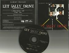 Van Halen SAMMY HAGAR Let Sally Drive RARE EDIT PROMO DJ CD Single CHICKENFOOT