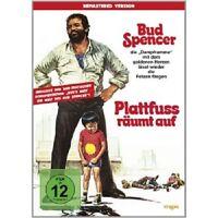 BUD SPENCER/AL LETTIERI/ENZO CANNAVALE/+ - PLATTFUß RÄUMT AUF  DVD KOMÖDIE NEU
