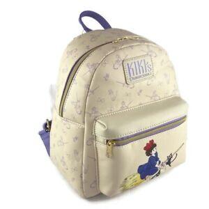 Loungefly Studio Ghibli Kiki's Delivery Service Jiji & Kiki Flying Mini Backpack