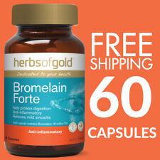 Herbs of Gold Bromelain Forte 60 Capsules