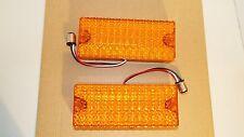 1969,1970 CHEVROLET TRUCK 36 LED AMBER PARK LIGHT PARKING LIGHT LENS