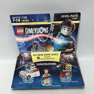 LEGO Dimensions 71228 Ghostbusters Level Pack w/ Ghost Trap & 3-in-1 Ecto NEW