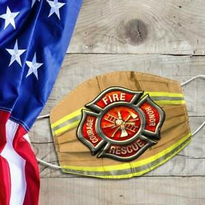 FireFighter Fire Honor Face Mask