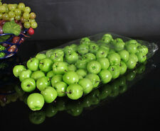 15 artificial min  green apple fake fruit faux food house kitchen party wedding