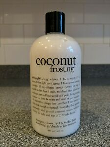 BRAND NEW SEALED COTY Philosophy Coconut Frosting 480ml 3in1 Bath & Body