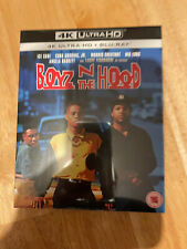 BOYZ IN THE HOOD  UK 4K UHD + BLU RAY BRAND NEW REGION FREE