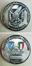 """Moneta/Coin commemorativa 183° REGGIMENTO PARACADUTISTI """"NEMBO"""" - (Rarità)"""