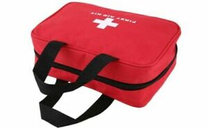 106 Pcs First Aid Kit Bag Medical Emergency Kit Travel Home Car Taxi Workplace