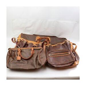 Etro PVC Hand/Shoulder/Travel Bag Clutch 5 pieces set 525477