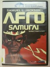 Samuel L. Jackson Afro Samurai Director's Cut 2-DVD Movie Anime Gonzo Funimation