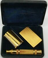 Vintage Gillette Safety Razor 1934 501 Special With Case, With Some Blades