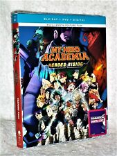 My Hero Academia Heroes Rising (Blu-ray/DVD, 2020, 2-Disc) anime action
