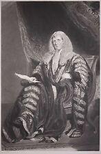 Sir William Grant Antique Engraving Portrait by Edward McInnes, Original 1842!