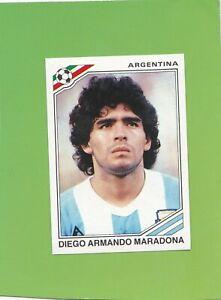 Diego Maradona Panini World Cup Story Italia 90 sticker #224 Sonric's