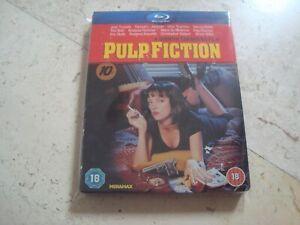 PULP FICTION *rare* OOP Blu-Ray SteelBook Quentin Tarantino Uma Thurman Travolta