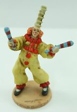 Willitt's Design Clown With Batons 5860 Circus Mary Keen 1986 Figurine