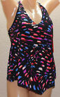 NWT Magicsuit by Miraclesuit Caleidoscope Taylor Tankini Top 367152 Size 8  M5