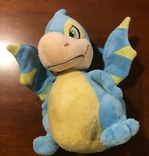 Neopets 12� Blue and Yellow Scorchio Dragon Plush Toy #91