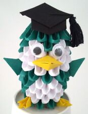 DIY 3D Origami Penguin Scholar Kit - Paper Modules - New - Free Shipping